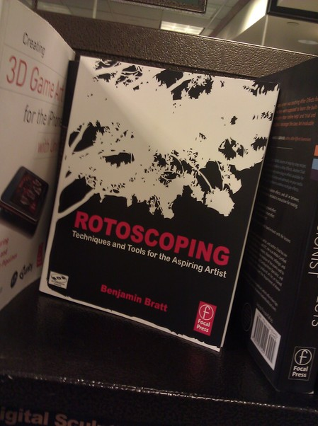 Rotoscoping book