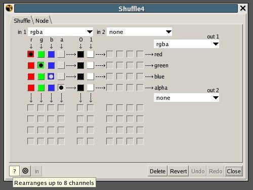 Shuffle Node
