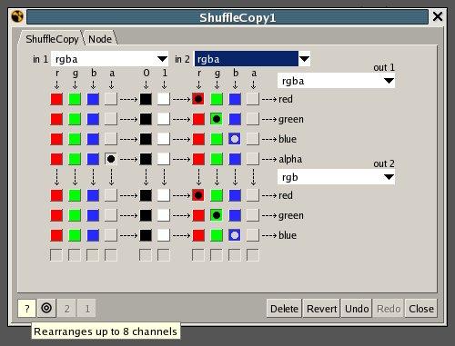Shuffle Copy Node